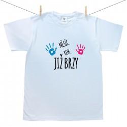 Pánské triko s krátkým rukávem Již brzy