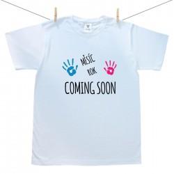Pánské triko s krátkým rukávem Coming soon