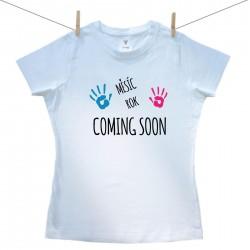 Dámské triko s krátkým rukávem Coming soon