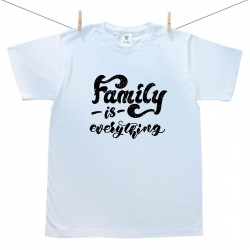 Pánské triko s krátkým rukávem Family is everything