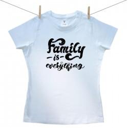 Dámské triko s krátkým rukávem Family is everything