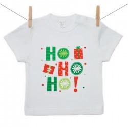 Tričko s krátkým rukávem HO HO HO!