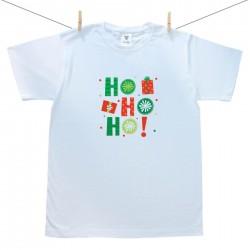 Pánské triko s krátkým rukávem HO HO HO!