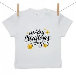 Tričko s krátkým rukávem Merry Christmas