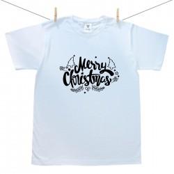 Pánské triko s krátkým rukávem Merry Christmas