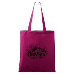 Fialová taška Merry Christmas