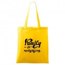 Žlutá taška Family is everything