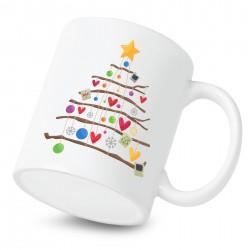 Hrnek Vánoční stromeček