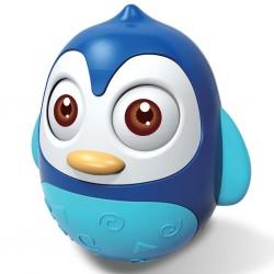 Kývací hračka Bayo tučňák blue