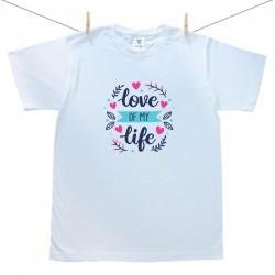 Pánské triko s krátkým rukávem Love of my life