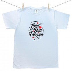 Pánské triko s krátkým rukávem Love you forever