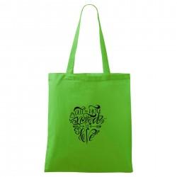 Zelená taška All you need is love