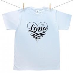 Pánské triko s krátkým rukávem Love