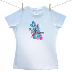 Dámské triko s krátkým rukávem Veselé Velikonoce
