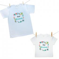 Rodinná sada (tričko s krátkým rukávem) Malý a Velký koledník