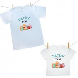 Rodinná sada (tričko s krátkým rukávem) Tátův tým