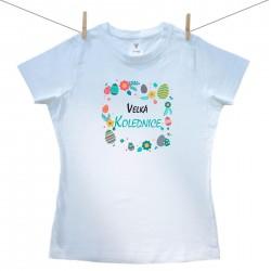 Dámské triko s krátkým rukávem Velká kolednice