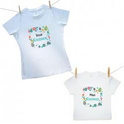 Rodinná sada (tričko s krátkým rukávem) Malá a Velká kolednice