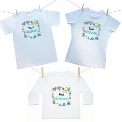 Rodinná sada (tričko s dlouhým rukávem) Malá, Velká kolednice a Velký koledník