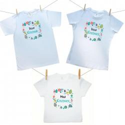Rodinná sada (tričko s krátkým rukávem) Malá, Velká kolednice a Velký koledník