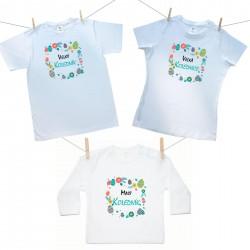 Rodinná sada (tričko s dlouhým rukávem) Malý, Velký koledník a Velká kolednice